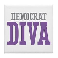 Democrat DIVA Tile Coaster