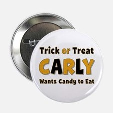 Carly Trick or Treat Button