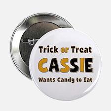 Cassie Trick or Treat Button
