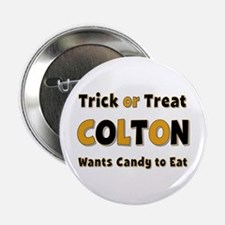 Colton Trick or Treat Button