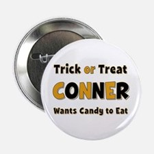 Conner Trick or Treat Button