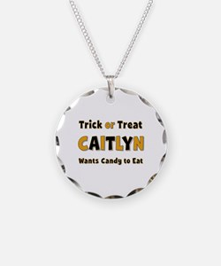 Caitlyn Trick or Treat Necklace