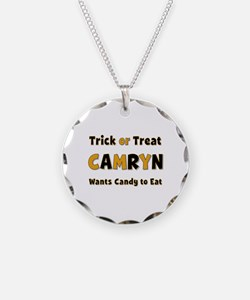 Camryn Trick or Treat Necklace