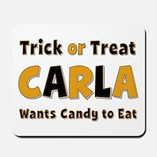 Carla Trick or Treat Mousepad