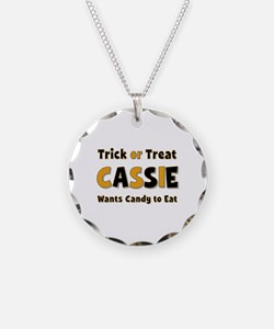 Cassie Trick or Treat Necklace