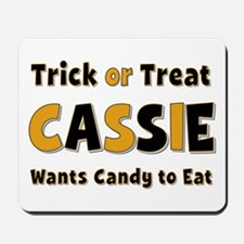 Cassie Trick or Treat Mousepad