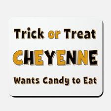 Cheyenne Trick or Treat Mousepad