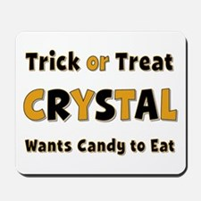 Crystal Trick or Treat Mousepad