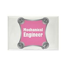Pink Screw Loose Rectangle Magnet