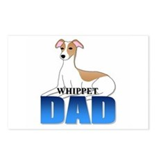 Whippet Dad Postcards (Package of 8)