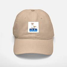 Whippet Dad Baseball Baseball Cap