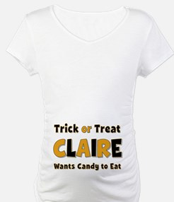Claire Trick or Treat Shirt