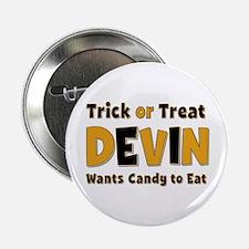 Devin Trick or Treat Button