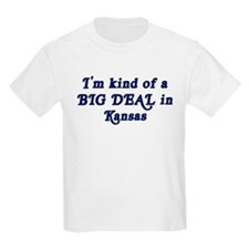Big Deal in Kansas Kids T-Shirt