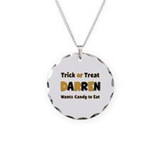 Darren Trick or Treat Necklace