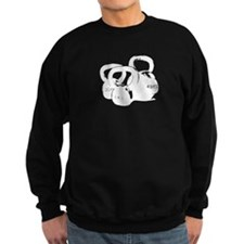 just kettlebell black Sweatshirt