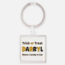 Darryl Trick or Treat Square Keychain