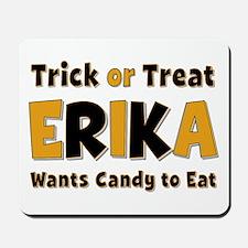 Erika Trick or Treat Mousepad