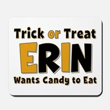 Erin Trick or Treat Mousepad