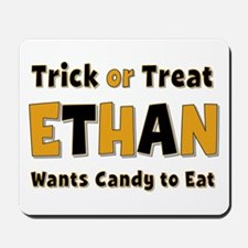 Ethan Trick or Treat Mousepad