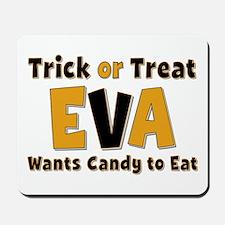 Eva Trick or Treat Mousepad