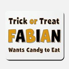 Fabian Trick or Treat Mousepad