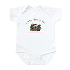 Little Christmas Hockey Fan Infant Bodysuit