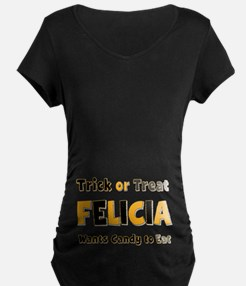 Felicia Trick or Treat T-Shirt