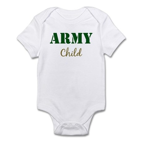 Army Child Infant Bodysuit