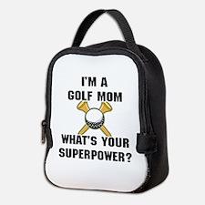 Golf Mom Neoprene Lunch Bag