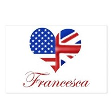Francesca Postcards (Package of 8)