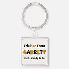 Garrett Trick or Treat Square Keychain