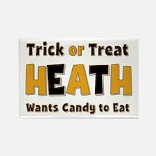 Heath Trick or Treat Rectangle Magnet