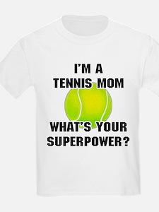 Tennis Mom Superhero T-Shirt