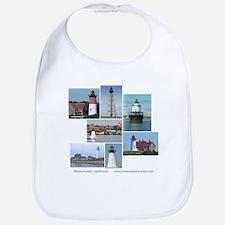 Massachusetts Lighthouses Bib
