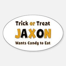 Jaxon Trick or Treat Oval Decal