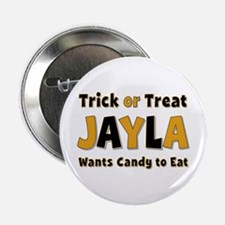 Jayla Trick or Treat Button
