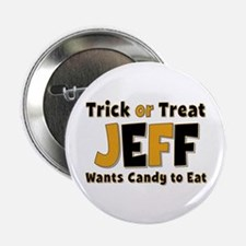 Jeff Trick or Treat Button