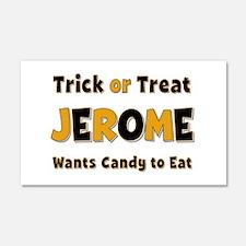 Jerome Trick or Treat 20x12 Wall Peel