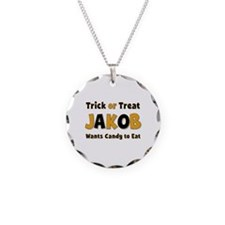 Jakob Trick or Treat Necklace