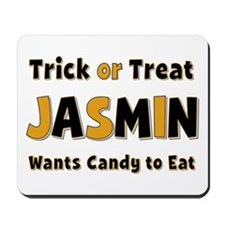 Jasmin Trick or Treat Mousepad