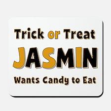 Jasmin Trick or Treat Mousepad