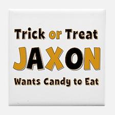 Jaxon Trick or Treat Tile Coaster