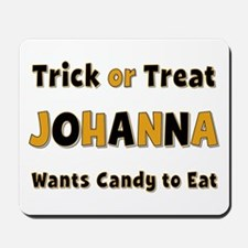 Johanna Trick or Treat Mousepad