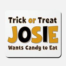 Josie Trick or Treat Mousepad