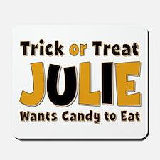 Julie Trick or Treat Mousepad