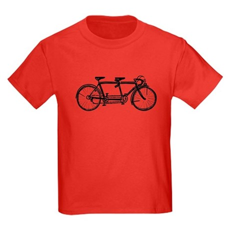 Tandem bike Kids Dark T-Shirt