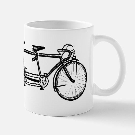 Tandem bike Mug