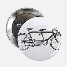 "Tandem bike 2.25"" Button"