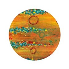 "Fiesta Abstract 3.5"" Button (100 pack)"